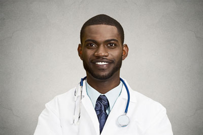 Young male Nigerian doctor - Medical Communication Skills Coaching | Oxford, UK | OMCS