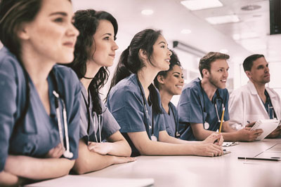 Young medical students - Medical Communication Skills Coaching | Oxford, UK | OMCS